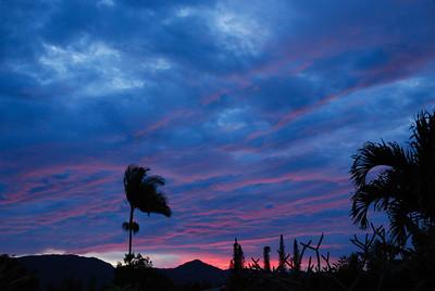 From Kilauea town, January 14, 2012