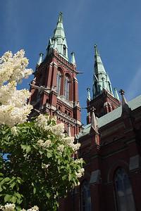 St John church in Helsinki.