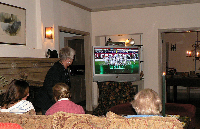 Super Bowl Party 2008