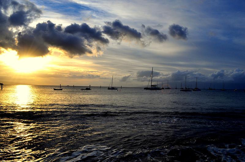 Lahaina Sunset, Maui Hawaii