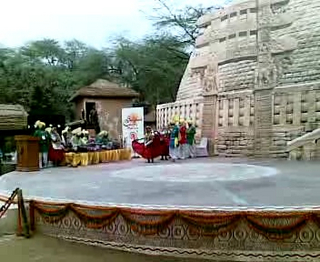 Audio & Video clip of Surajkund Crafts Mela 2009.