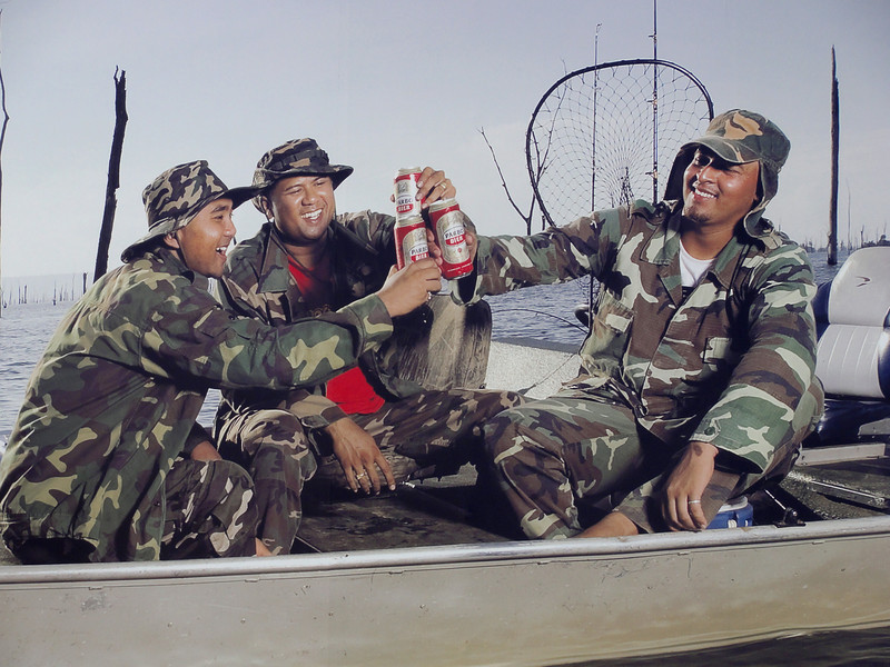 """Join the Army...Go Fishing...Drink Beer"""