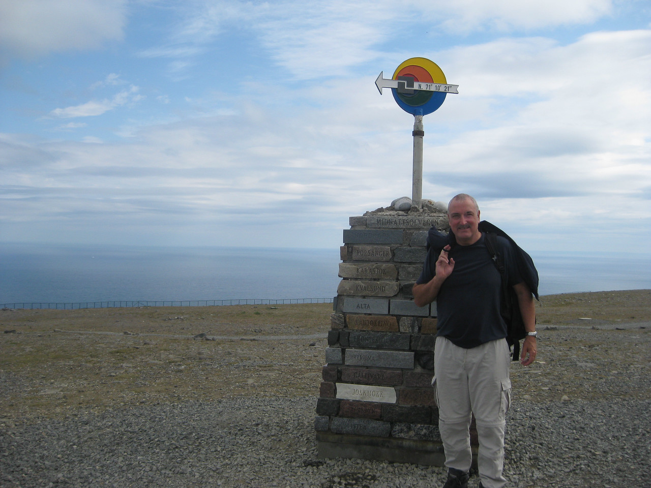 nordcapp, most northerly point in europe
