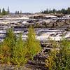 Trappstegsfallet near Saxnäs