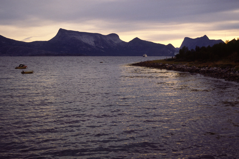 Ferry from Bognes to Skarberget