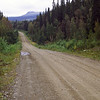 Gravel road to Hällingsåfallet