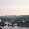 View from Mosebacke towards Vasa museum