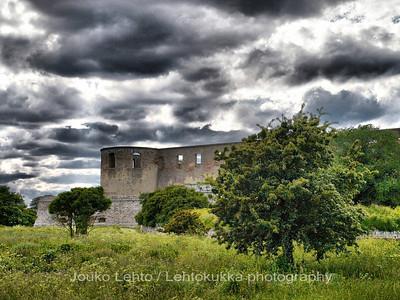 Öölanti - Öland - Oland: Borgholmin linna - Borgholm castle