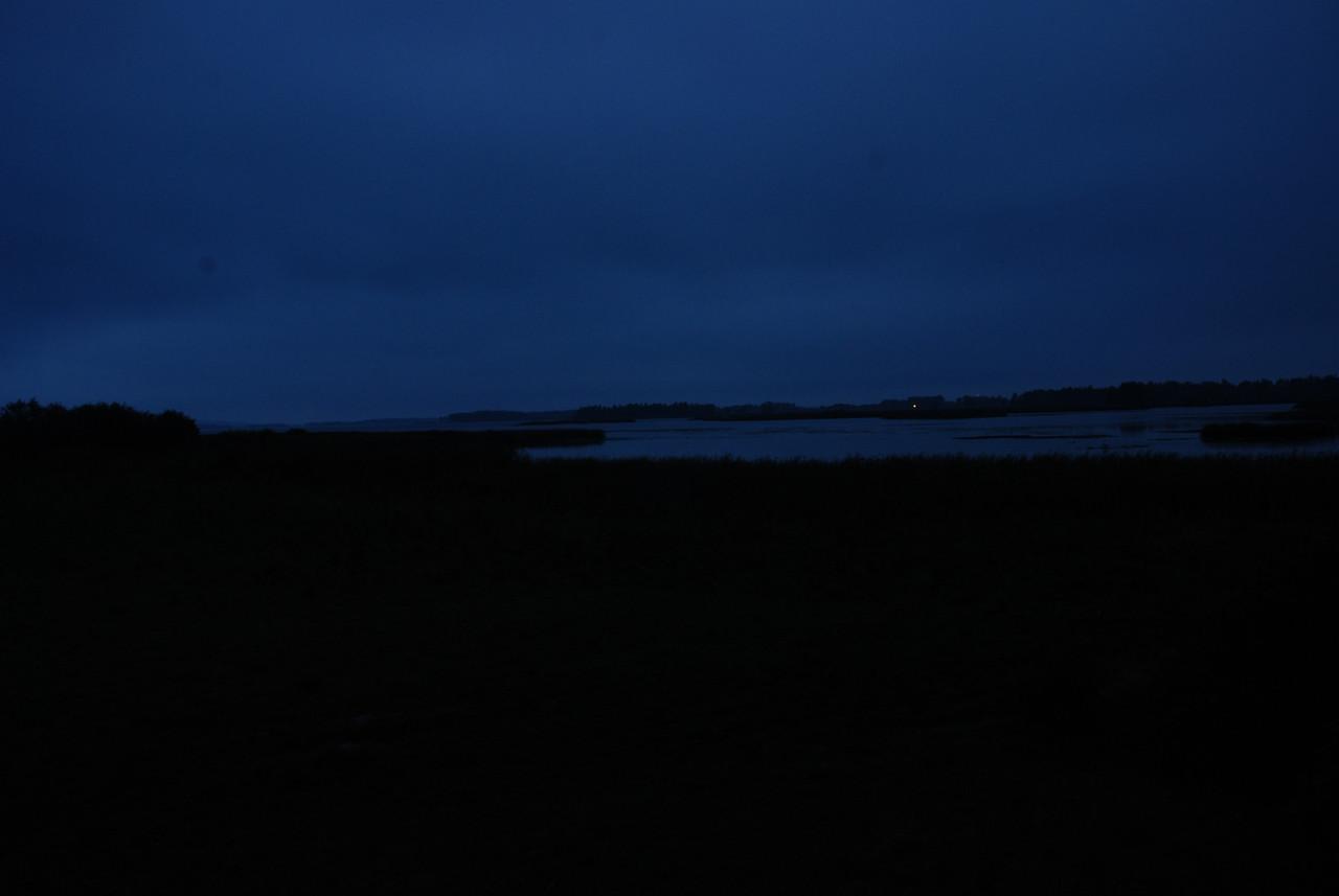 still dark