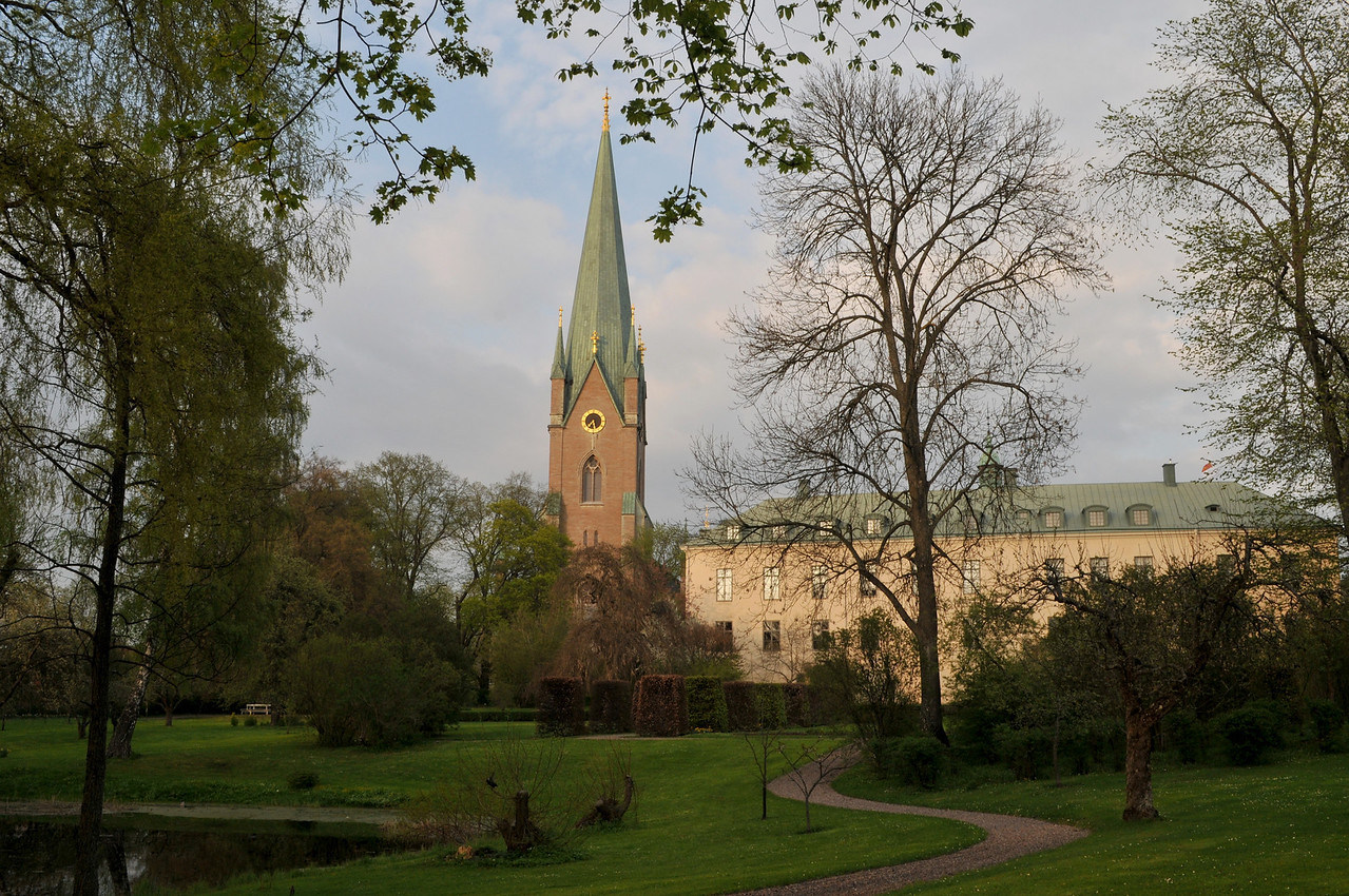 Linköping, Sweden, The Castle and the Cathedral