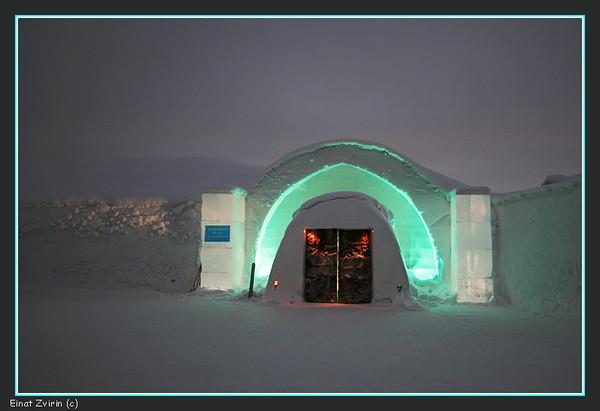 Ice Hotel Main Entrance, 2011
