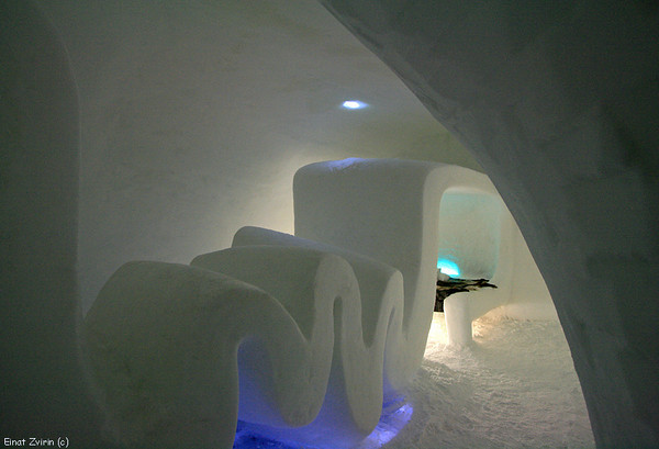 Aurora Suite, Ice Hotel 2008