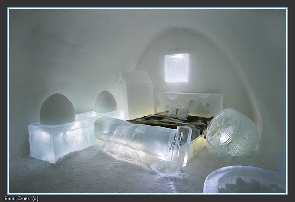 The Frigid Dare Suite, Ice Hotel 2011