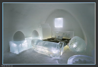 The Frigid Dare Suite, Ice Hotel 2011