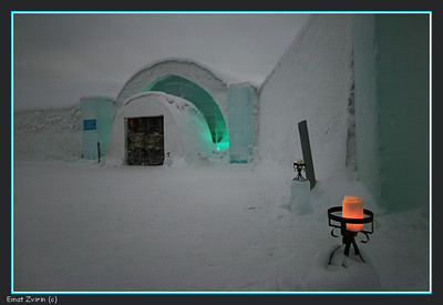 Ice Hotel Main Entrance, 2011