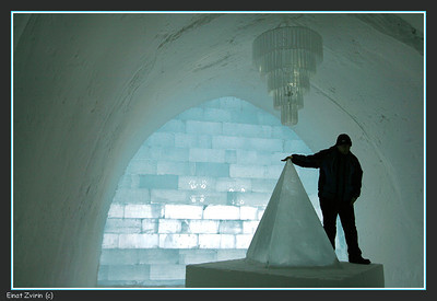 Main Hall, Ice Hotel 2011