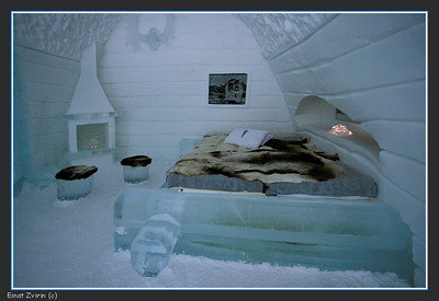 The Midvinternatt Suite, Ice Hotel 2011