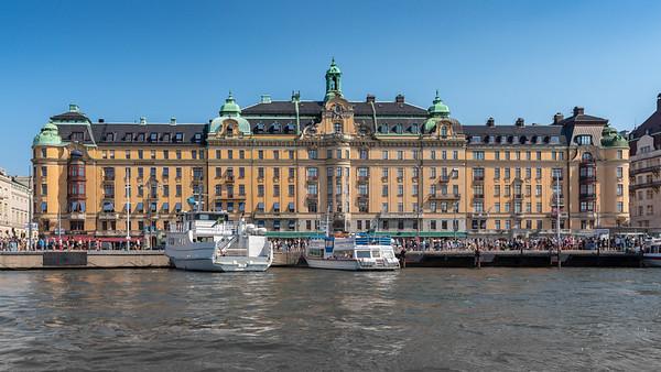 Stockholm July 2018. Eversheds Building Stockholm.