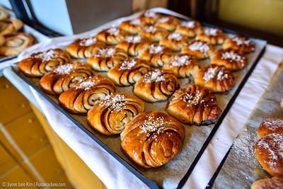 Traditional Swedish cinnamon bread
