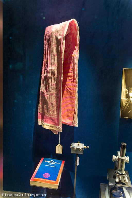 Malala Yousafzai's head scarf