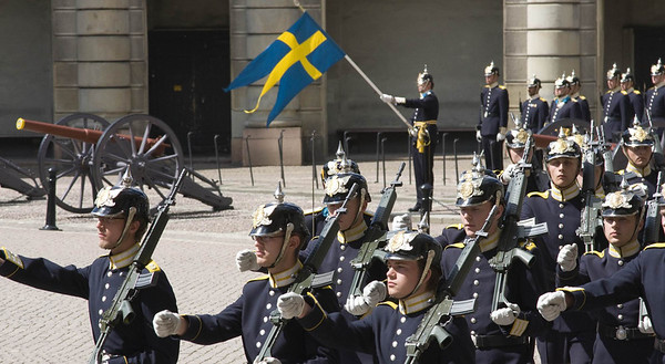 Changing of the Guard, Royal Palace, Gamla Stan, Stockholm