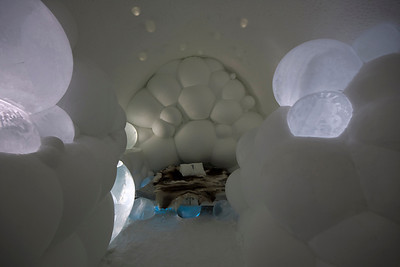 The Bubble Suite, Ice Hotel