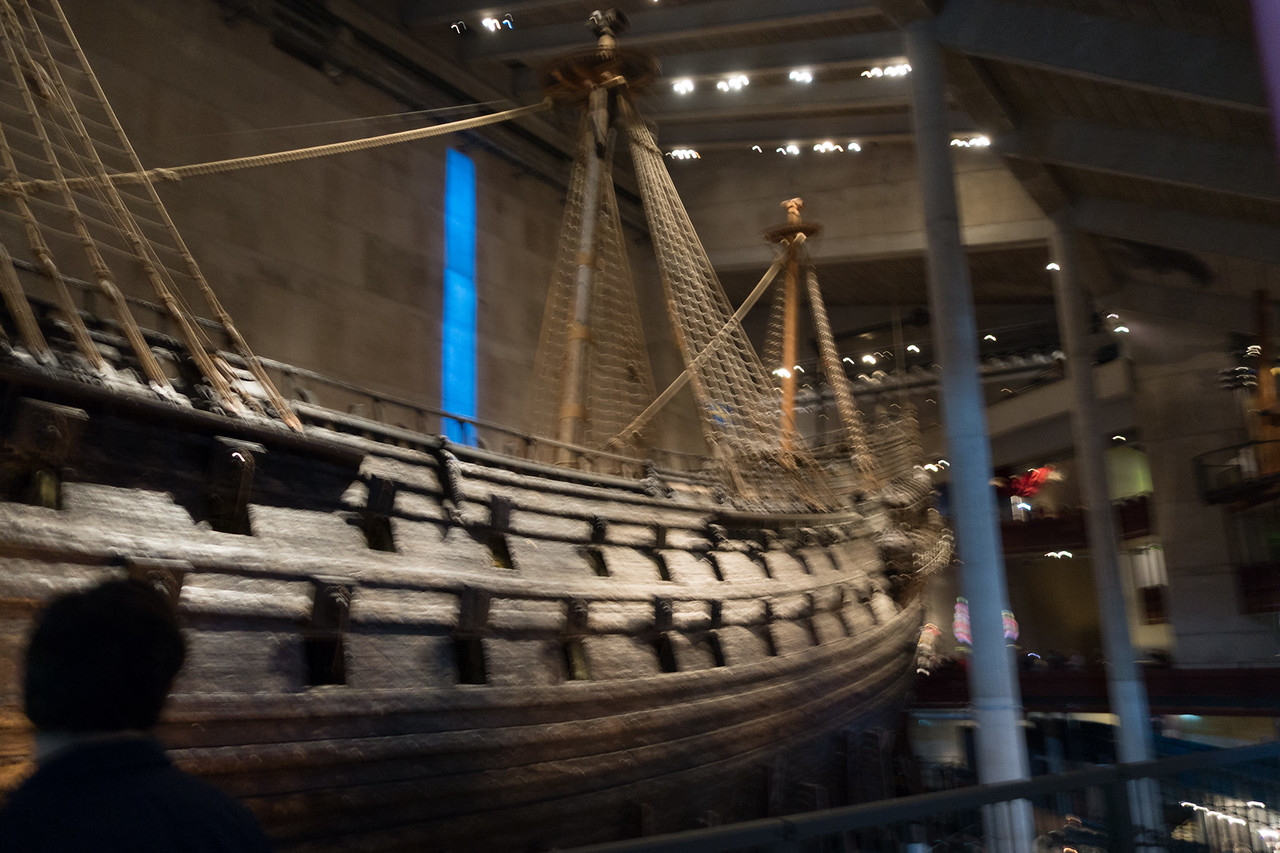 The Vasa--an old Swedish ship that sank about 30 minutes into her maiden voyage in the 1600s. It was recovered in the 1990s and now has an entire museum dedicated to it.