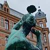 Haga Statue