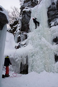 Ice Climbing - Abisko National Park