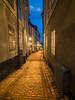 Empty Alley of Gamla Stan
