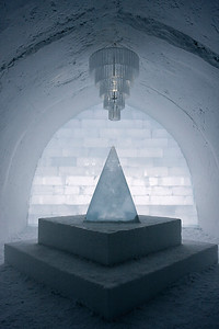 Main Hall, Ice Hotel