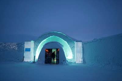 Ice Hotel Main Entrance