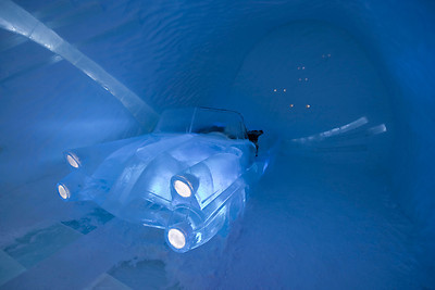 The Retro Suite, Ice Hotel