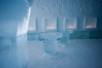 The Ice Hotel - Ice Bar