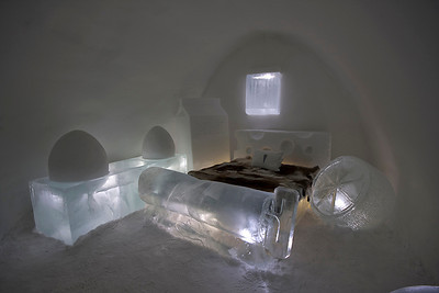 The Frigid Dare Suite, Ice Hotel