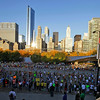 Runners participate in the Chicago Marathon in Chicago, Sunday, Oct. 9, 2011. (AP Photo/Nam Y. Huh)