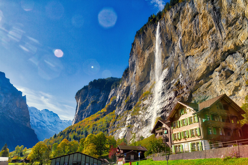 Lauterbrunnen Valley: Nice