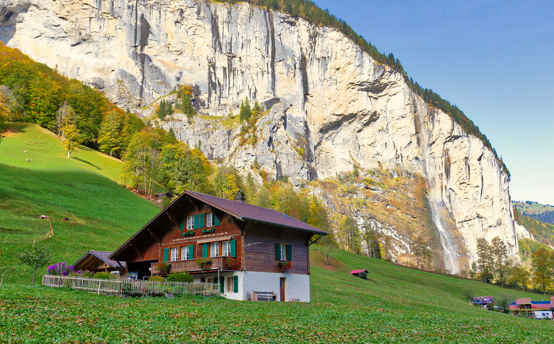 Lauterbrunnen Valley: I could handle living here.