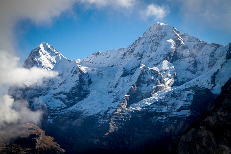 Mürren: Mt. Eiger and Mt. Mönch