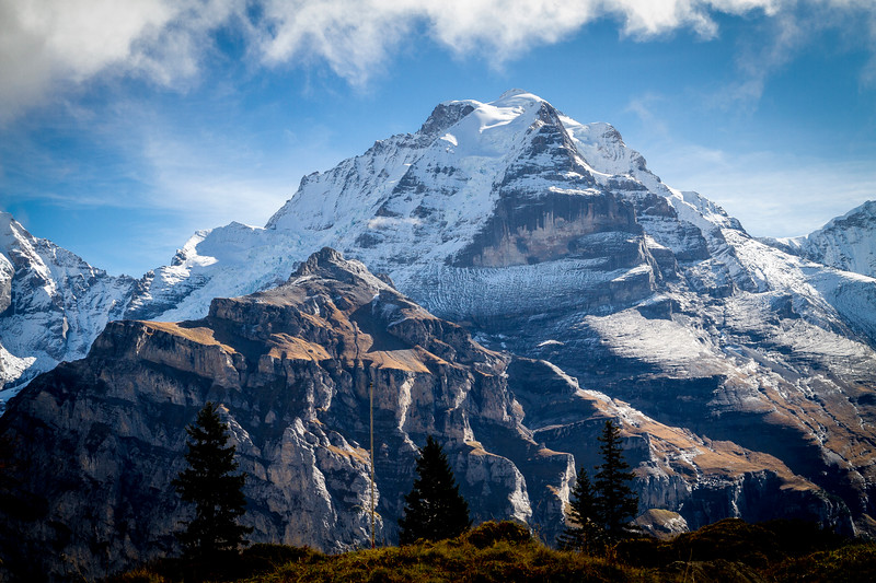 Mürren: Mt. Jungfrau