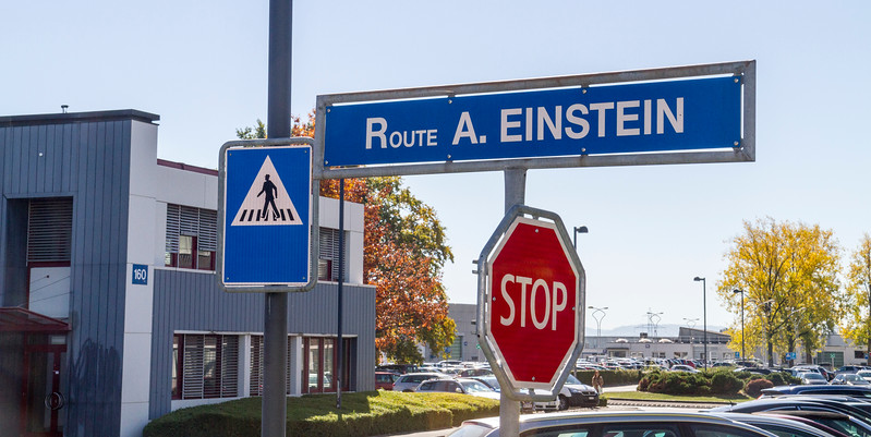 CERN: They had cool street names.