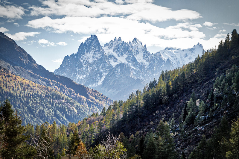 Chamonix: Went for a hike in the woods around town...nice views.