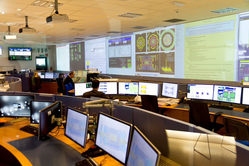 CERN: The ATLAS Control Room.