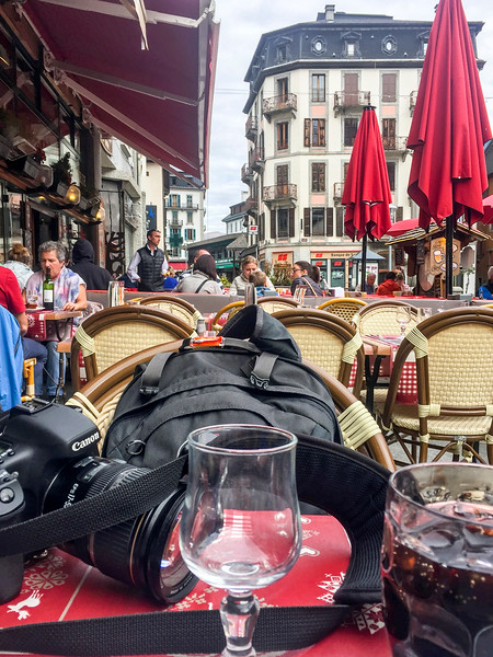 Chamonix: Nice break to enjoy a quick lunch!