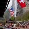 Waterfall above Lauterbrunnen