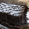 Stone roofed slab hut , Zermatt