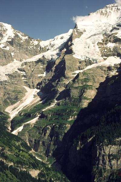 Views of Eiger, Mönch and Jungfrau