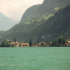 From Interlaken I took a ferry on the lake Brienz