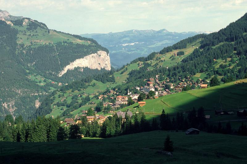 The train took me further up to Kleine Scheidegg