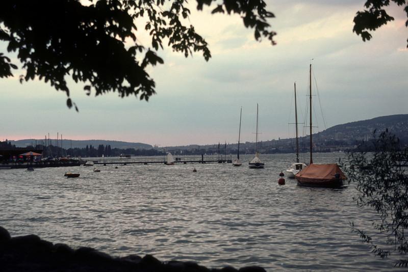 Back in Switzerland and Zürich